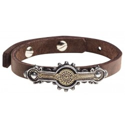 Portative Spectrostat Steampunk Leather Strap Bracelet Step Out of Time Steampunk and More Steampunk Costumes, Victorian Clothing, Pirate Costumes, Renne Faire Clothing