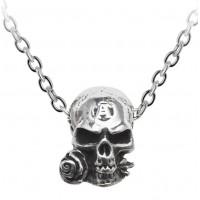 Alchemist Amulet Gothic Pewter Necklace