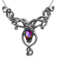 Kraken Pewter Octopus Gothic Necklace