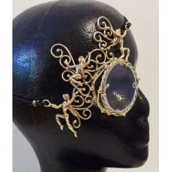 Dancing Fairies Bronze Steampunk Monocle Step Out of Time Steampunk and More Steampunk Costumes, Victorian Clothing, Pirate Costumes, Renne Faire Clothing