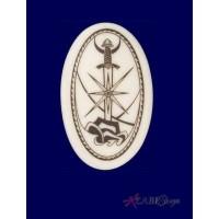 Excalibur Arthurian Legends Porcelain Necklace