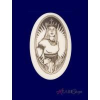 The Queen Arthurian Legends Porcelain Necklace