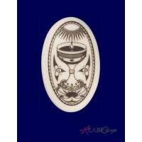 The Holy Grail Arthurian Legends Porcelain Necklace