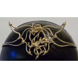 Dragon Bronze Draconian Wiccan Circlet Step Out of Time Steampunk and More Steampunk Costumes, Victorian Clothing, Pirate Costumes, Renne Faire Clothing