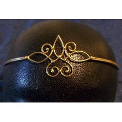 Bronze Circlet with Swirls Step Out of Time Steampunk and More Steampunk Costumes, Victorian Clothing, Pirate Costumes, Renne Faire Clothing