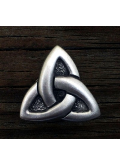 Celtic Triquetra Pewter Concho at Step Out of Time Steampunk and More, Steampunk Costumes, Victorian Clothing, Pirate Costumes, Renne Faire Clothing
