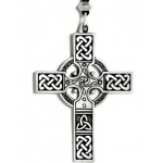 Celtic Cross Necklace - Large at Step Out of Time Steampunk and More, Steampunk Costumes, Victorian Clothing, Pirate Costumes, Renne Faire Clothing