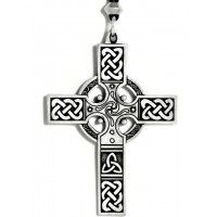 Celtic Cross Necklace - Large