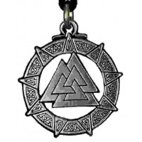 The Valknut Viking Rune Necklace