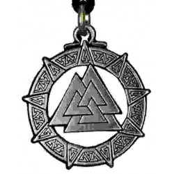 The Valknut Viking Rune Necklace Step Out of Time Steampunk and More Steampunk Costumes, Victorian Clothing, Pirate Costumes, Renne Faire Clothing