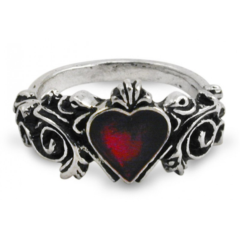 Silver Gothic Engagement Rings