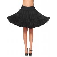 Black Knee Length Deluxe Crinoline Petticoat