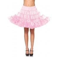 Baby Pink Knee Length Deluxe Crinoline Petticoat