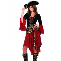 Cruel Seas Captain Pirate Costume