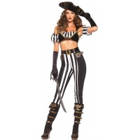 Black Beauty Pirate Costume for Women