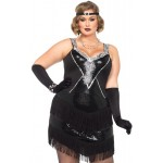 Glamour Flapper Roaring 20s Plus Size Costume at Step Out of Time, Steampunk Costumes, Victorian Clothing, Pirate Costumes, Renne Faire Clothing