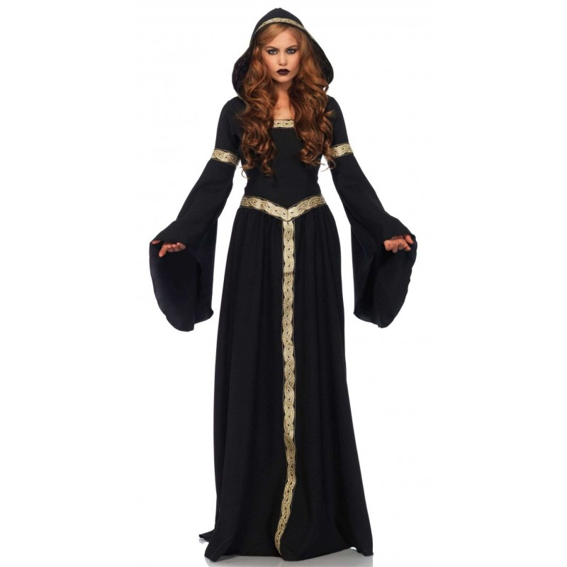 celtic lady hooded womens halloween costume at step out of time steampunk costumes victorian - Halloween Costumes Victorian