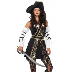 Black Sea Buccaneer Pirate Womens Costume Step Out of Time Steampunk and More Steampunk Costumes, Victorian Clothing, Pirate Costumes, Renne Faire Clothing
