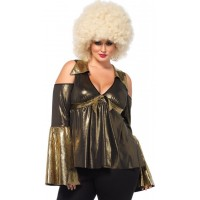 Disco Diva Plus Size Womens Costume
