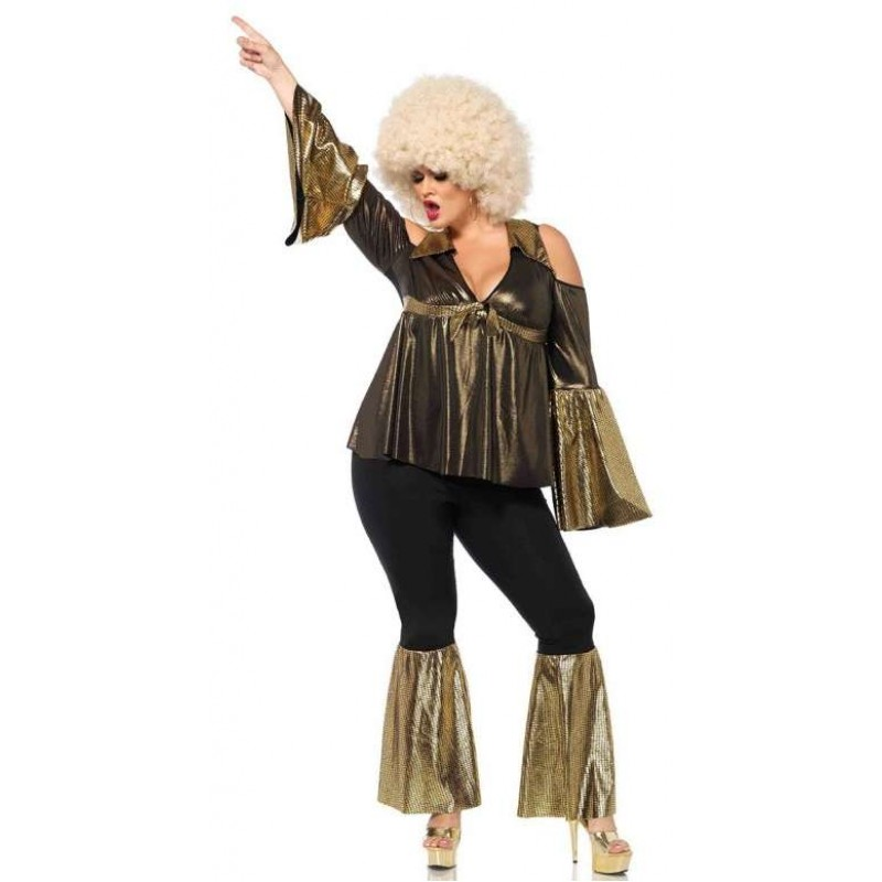 Disco Diva Plus Size Womens Costume | Halloween Costume