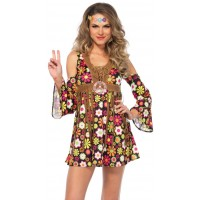 Starflower Hippie Womens Halloween Costume