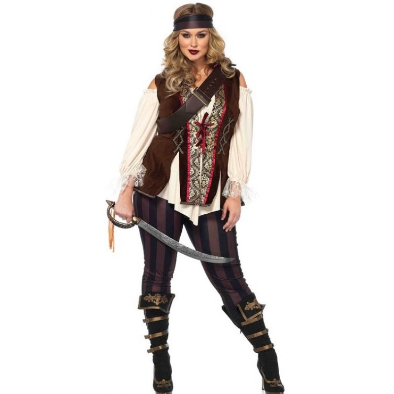 c99a736778 ... Captain Blackheart Plus Size Womens Pirate Costume at Step Out of Time  Steampunk and More