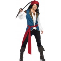 Pirate Scoundrel Mens Halloween Costume
