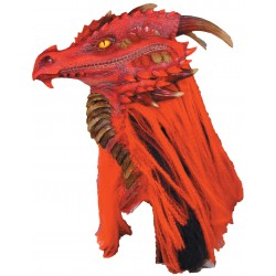 Brimstone Red Dragon Premiere Mask Step Out of Time Steampunk and More Steampunk Costumes, Victorian Clothing, Pirate Costumes, Renne Faire Clothing