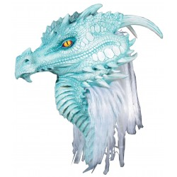 Artic Frost Dragon Premiere Mask Step Out of Time Steampunk and More Steampunk Costumes, Victorian Clothing, Pirate Costumes, Renne Faire Clothing