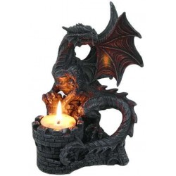 Dragon Candle Holder Step Out of Time Steampunk and More Steampunk Costumes, Victorian Clothing, Pirate Costumes, Renne Faire Clothing