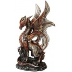 Steampunk Dragon Statue at Step Out of Time Steampunk and More, Steampunk Costumes, Victorian Clothing, Pirate Costumes, Renne Faire Clothing