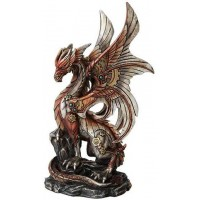 Steampunk Dragon Statue