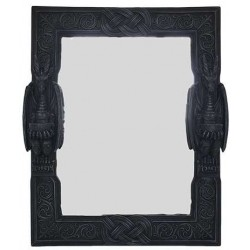 Celtic Dragon Wall Mirror Step Out of Time Steampunk and More Steampunk Costumes, Victorian Clothing, Pirate Costumes, Renne Faire Clothing