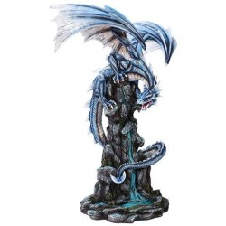 Blue Winged Dragon Mountain Statue Step Out of Time Steampunk and More Steampunk Costumes, Victorian Clothing, Pirate Costumes, Renne Faire Clothing