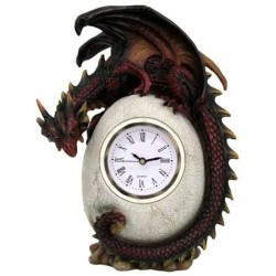 Dragon Egg Table Clock Step Out of Time Steampunk and More Steampunk Costumes, Victorian Clothing, Pirate Costumes, Renne Faire Clothing