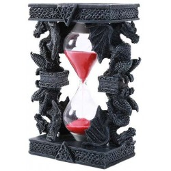 Celtic Dragon Sand Timer Step Out of Time Steampunk and More Steampunk Costumes, Victorian Clothing, Pirate Costumes, Renne Faire Clothing
