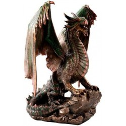Bronzage Dragon Statue Step Out of Time Steampunk and More Steampunk Costumes, Victorian Clothing, Pirate Costumes, Renne Faire Clothing