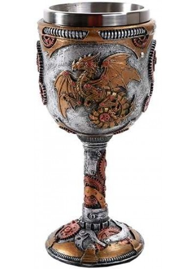 Steampunk Dragon Goblet at Step Out of Time Steampunk and More, Steampunk Costumes, Victorian Clothing, Pirate Costumes, Renne Faire Clothing