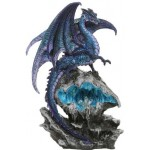 Checkmate Blue Dragon Statue at Step Out of Time Steampunk and More, Steampunk Costumes, Victorian Clothing, Pirate Costumes, Renne Faire Clothing