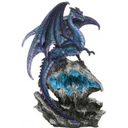 Checkmate Blue Dragon Statue Step Out of Time Steampunk and More Steampunk Costumes, Victorian Clothing, Pirate Costumes, Renne Faire Clothing