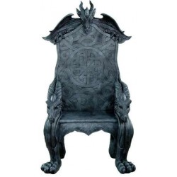 Celtic Dragon Throne Medieval Chair Step Out of Time Steampunk and More Steampunk Costumes, Victorian Clothing, Pirate Costumes, Renne Faire Clothing