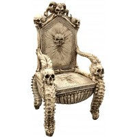 Skull Throne Gothic Chair