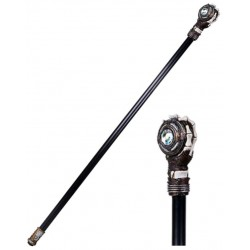 Steampunk Skeleton Hand Walking Stick Cane Step Out of Time Steampunk and More Steampunk Costumes, Victorian Clothing, Pirate Costumes, Renne Faire Clothing