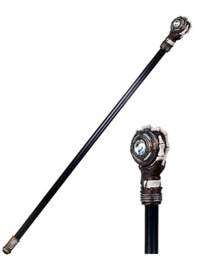 Steampunk Skeleton Hand Walking Stick Cane at Step Out of Time, Steampunk Costumes, Victorian Clothing, Pirate Costumes, Renne Faire Clothing