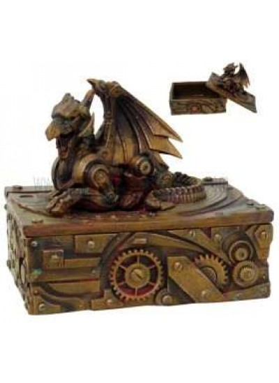 Steampunk Winged Dragon Trinket Box at Step Out of Time, Steampunk Costumes, Victorian Clothing, Pirate Costumes, Renne Faire Clothing