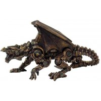 Steampunk Mechanical Dragon Statue