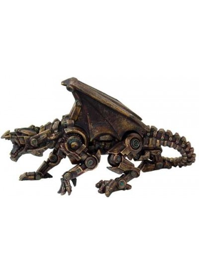 Steampunk Mechanical Dragon Statue at Step Out of Time Steampunk and More, Steampunk Costumes, Victorian Clothing, Pirate Costumes, Renne Faire Clothing