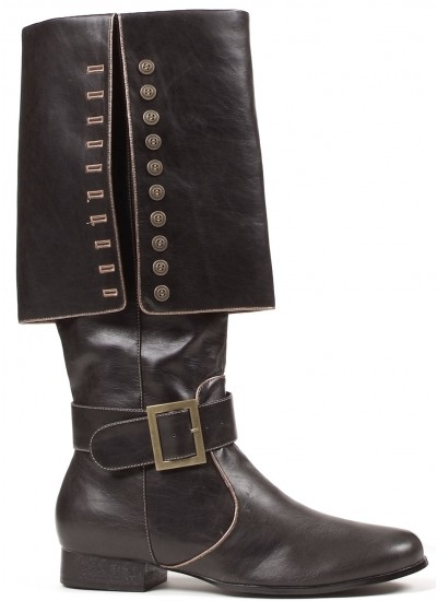 Mens Foldover Pirate Captain Boots at Step Out of Time Steampunk and More, Steampunk Costumes, Victorian Clothing, Pirate Costumes, Renne Faire Clothing