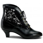 Victorian Dame Black Ankle Boot at Step Out of Time Steampunk and More, Steampunk Costumes, Victorian Clothing, Pirate Costumes, Renne Faire Clothing