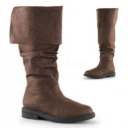 Robin Hood Renaissance Brown Boots Step Out of Time Steampunk and More Steampunk Costumes, Victorian Clothing, Pirate Costumes, Renne Faire Clothing
